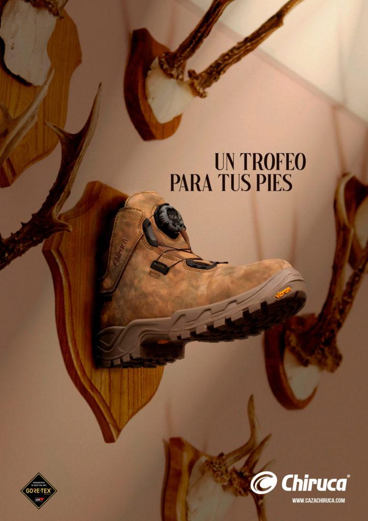 grafica caza cuiruca calzado publicidad